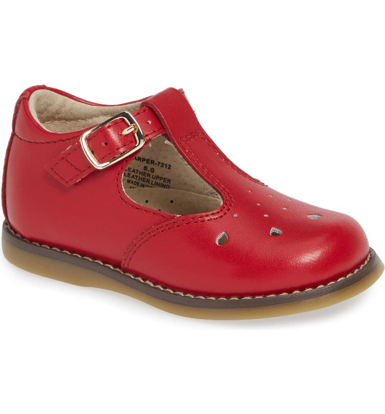 FOOTMATES Harper Mary Jane, Main, color, RED