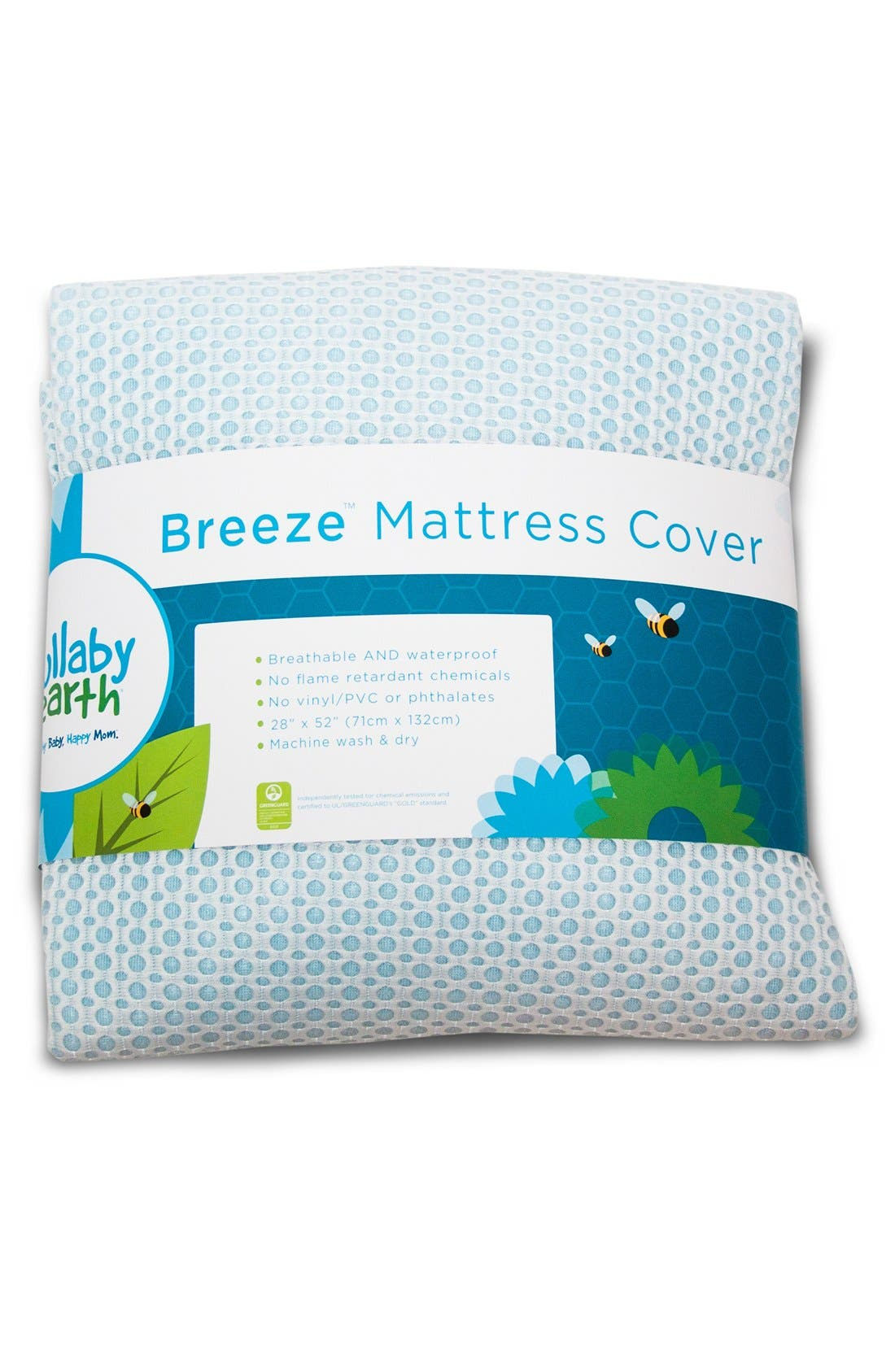 Lullaby Earth Breeze Waterproof Crib Mattress Cover Nordstrom