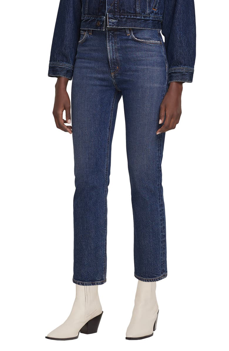 AGOLDE Wilder Ankle Straight Leg Jeans, Main, color, HYP
