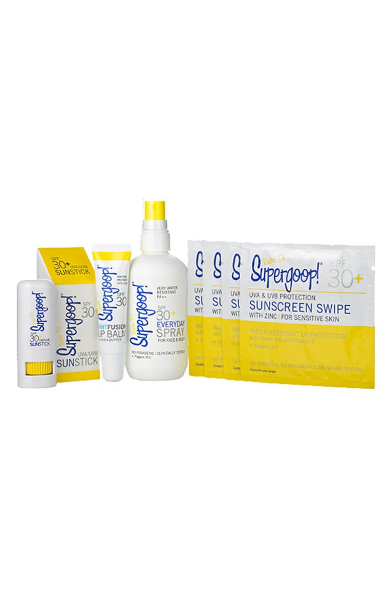 SUPERGOOP!<SUP>®</SUP> 'Weekend Sun Care Essentials' Kit, Main, color, 000