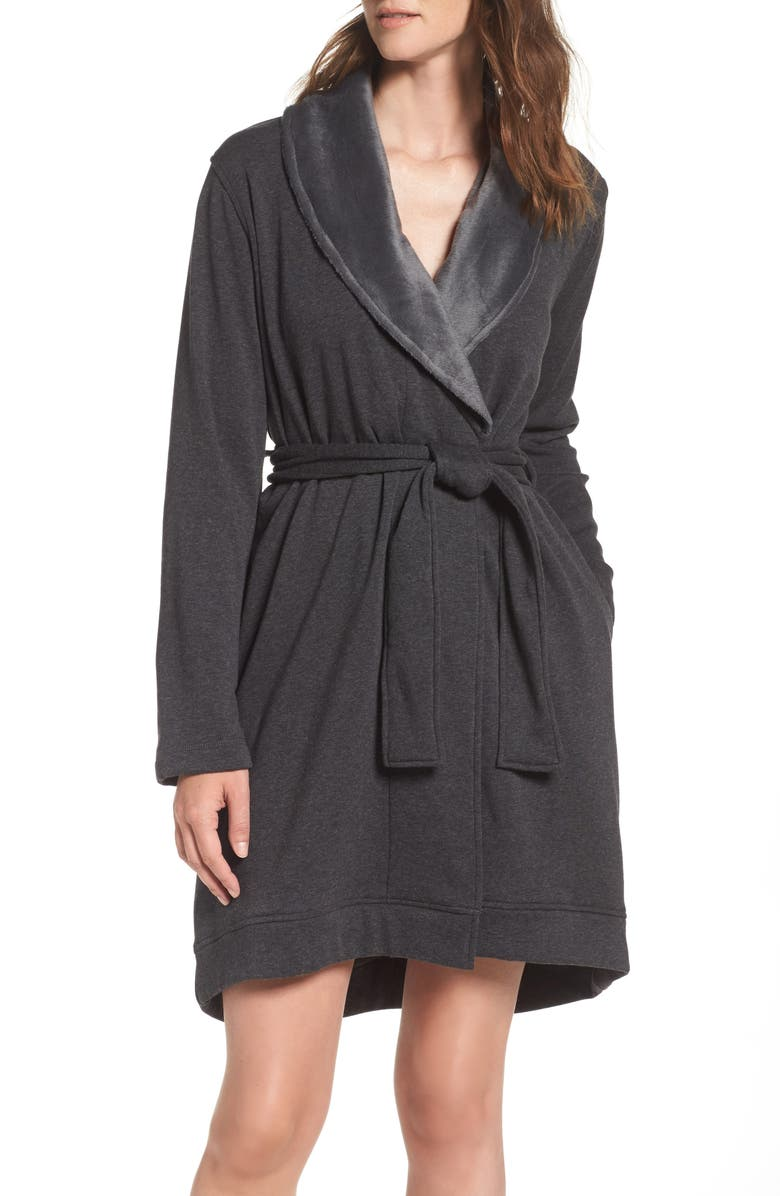 UGG<SUP>®</SUP> 'Blanche' Robe, Main, color, 002