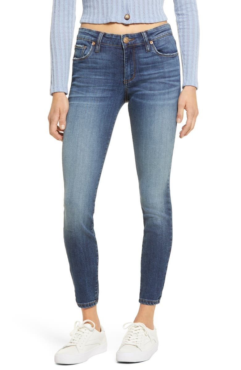 STS BLUE Emma Skinny Jeans, Main, color, BROADVIEW