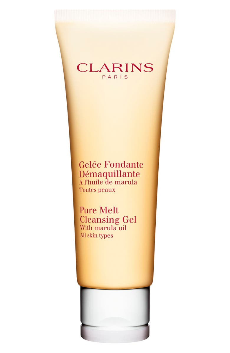 CLARINS Pure Melt Cleansing Gel for All Skin Types, Main, color, 000