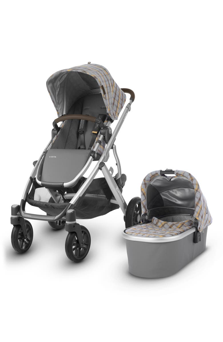 UPPABABY VISTA Spenser Convertible Stroller with Bassinet & Toddler Seat, Main, color, 020