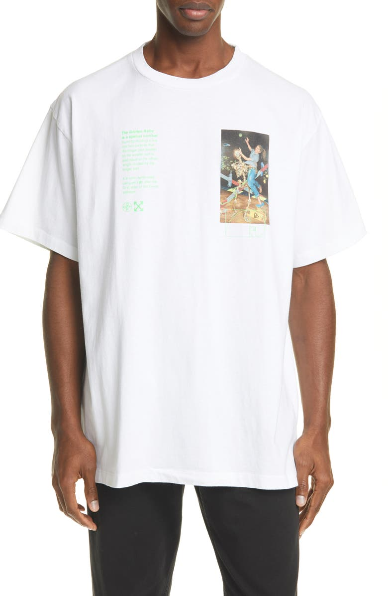 OFF-WHITE Pascal Painting Tee, Main, color, 100