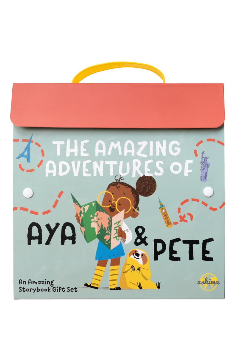 AYA AND PETE 'The Amazing Adventures of Aya & Pete' Set of 3 Books Gift Box Set, Main, color, NO COLOR