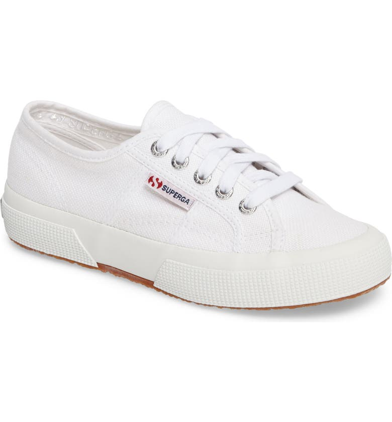 SUPERGA 'Cotu' Sneaker, Main, color, WHITE CANVAS