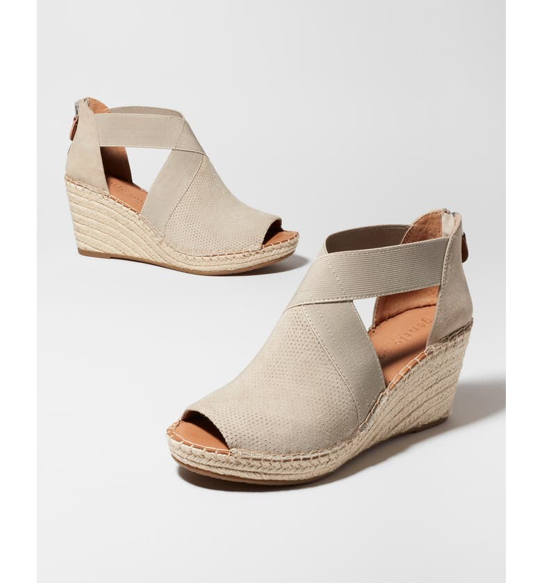 GENTLE SOULS BY KENNETH COLE Colleen Espadrille Wedge Sandal, Main, color, 100
