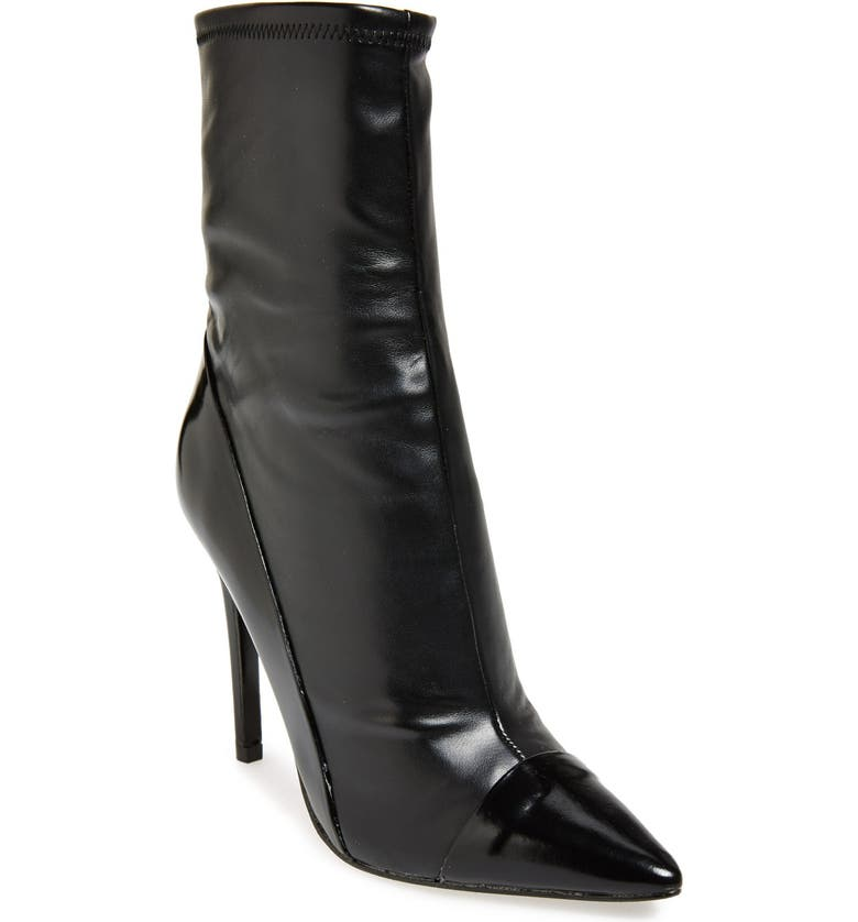 GUESS 'Oblong' Pointy Toe Boot, Main, color, 001