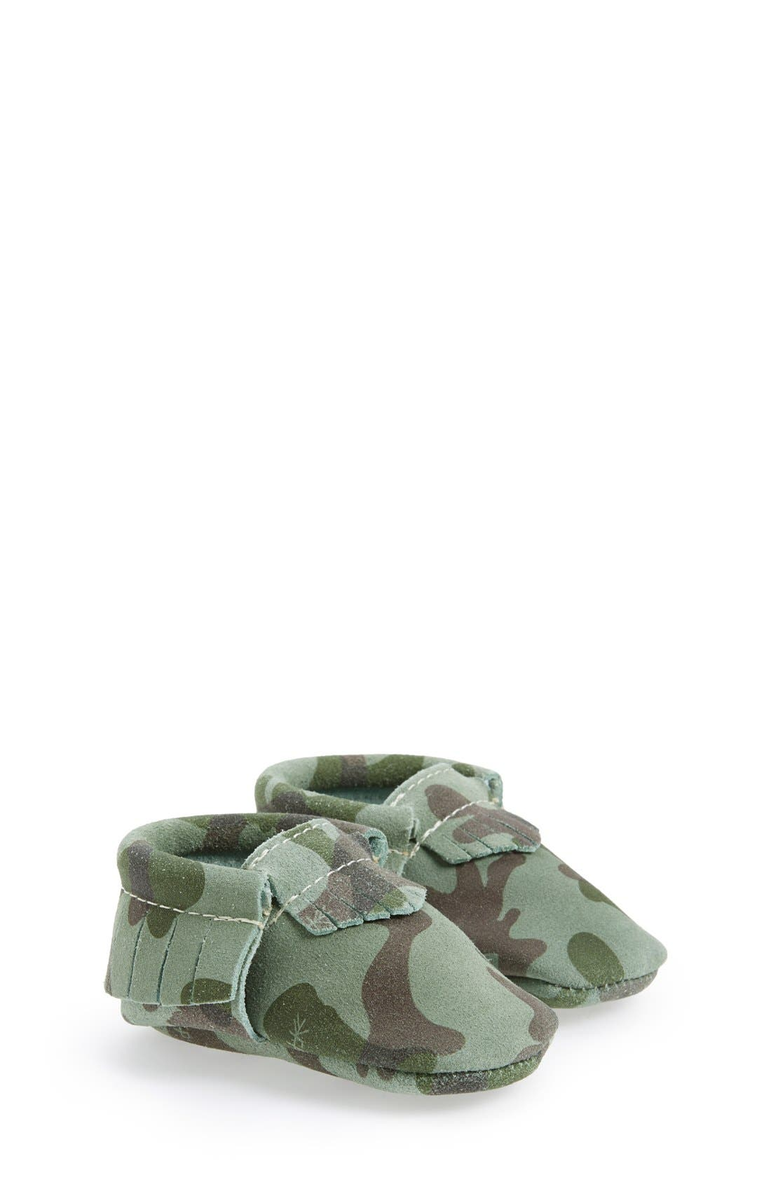 Freshly Picked Camo Print Suede