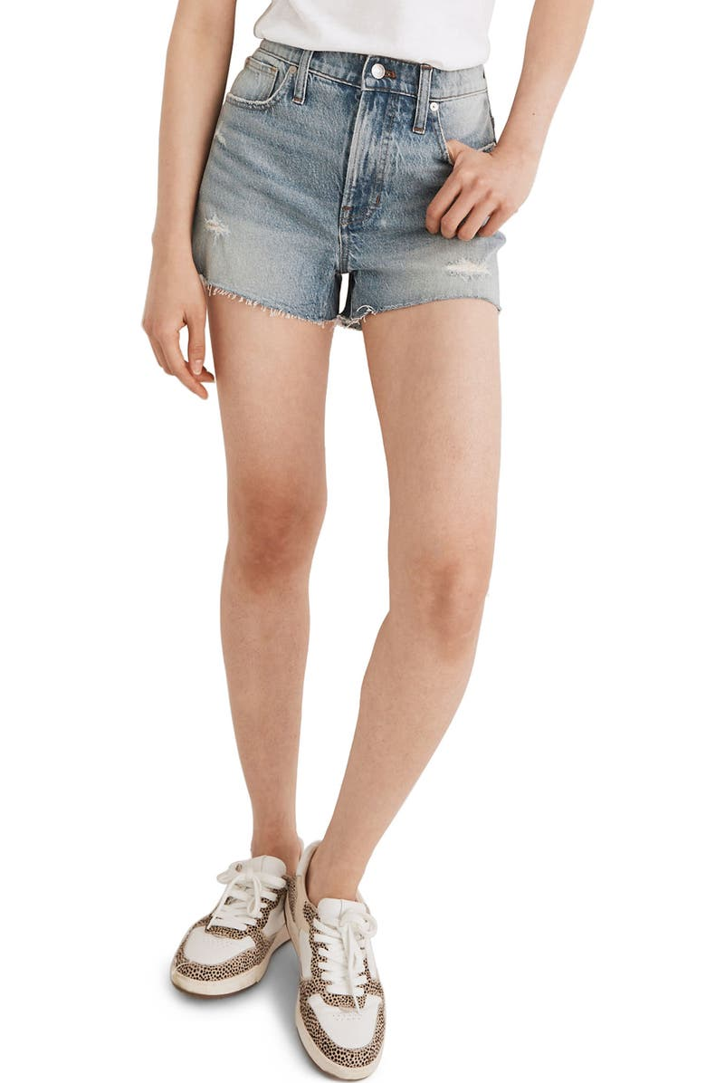 MADEWELL The Perfect Jean Shorts, Main, color, SNYDER