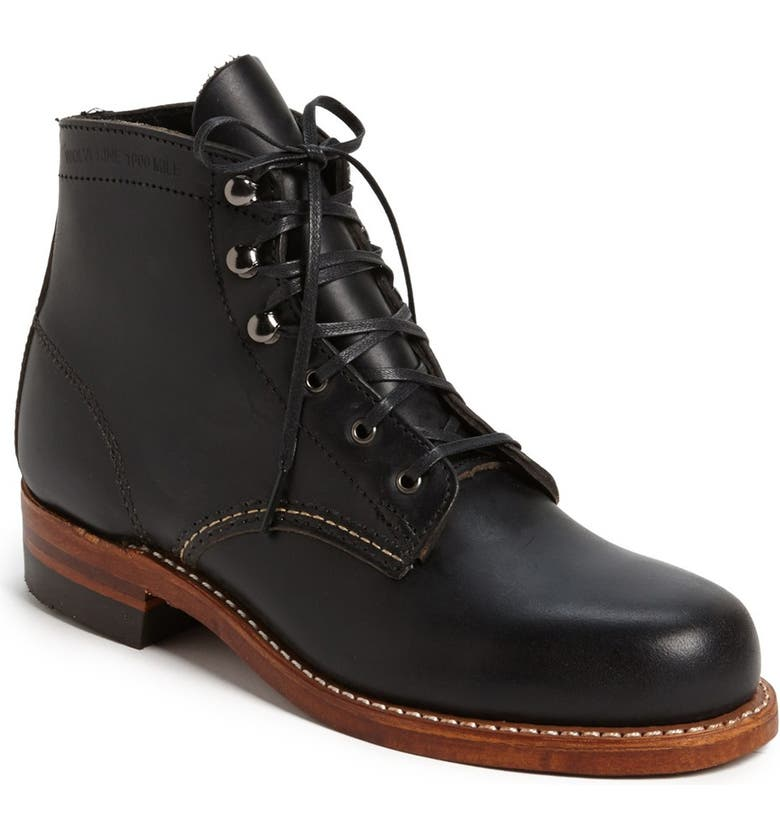 WOLVERINE '1000 Mile' Leather Boot, Main, color, 001