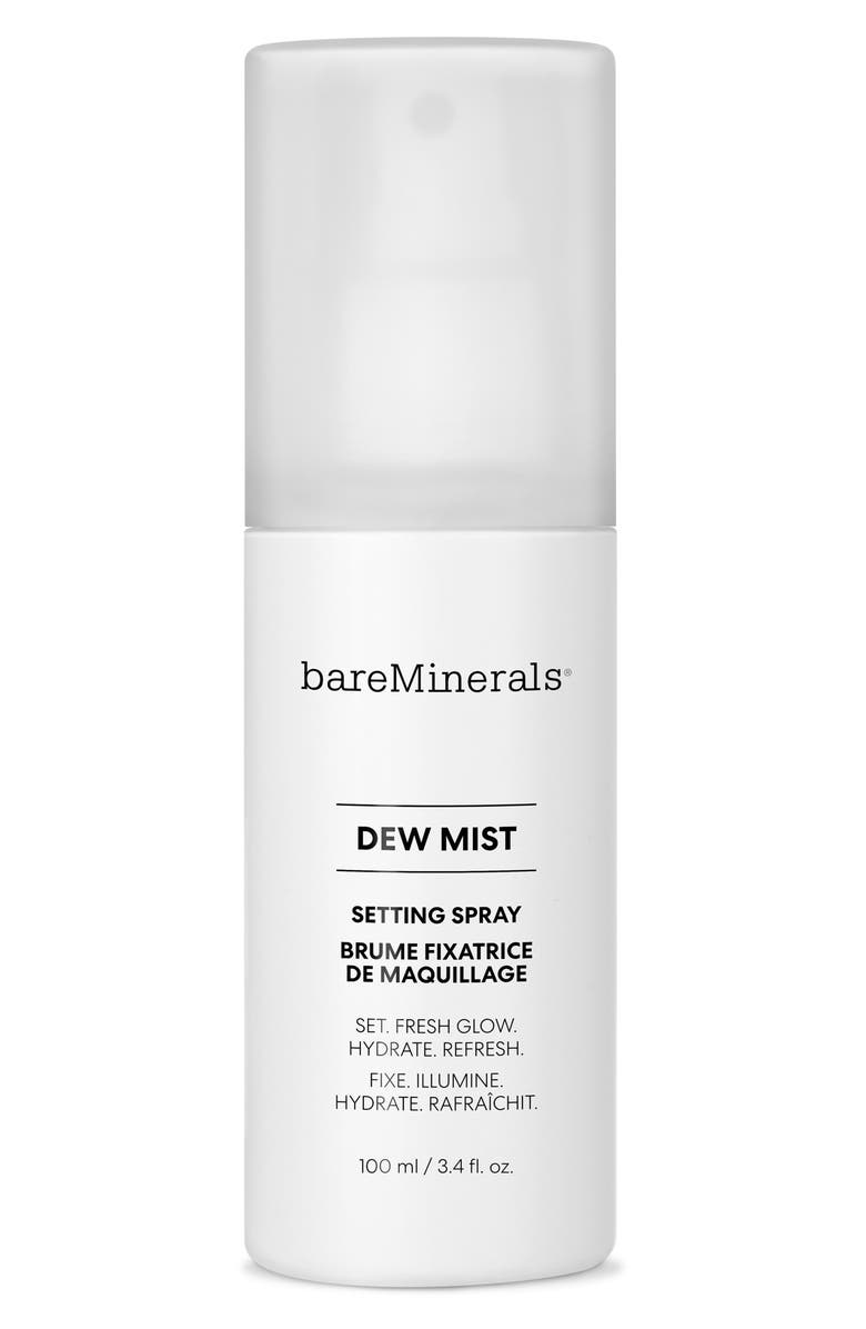 BAREMINERALS<SUP>®</SUP> Dew Mist Setting Spray, Main, color, NONE