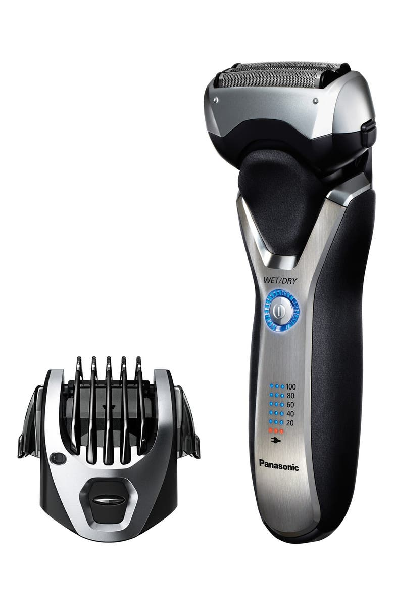 PANASONIC 'ARC3' 3-Blade Electric Wet/Dry Shaver with Built-In Trimmer, Main, color, No Color