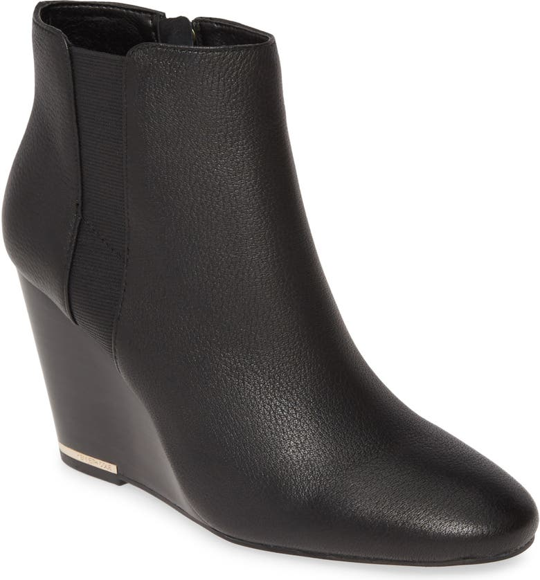 KENNETH COLE NEW YORK Merrick Wedge Bootie, Main, color, 001