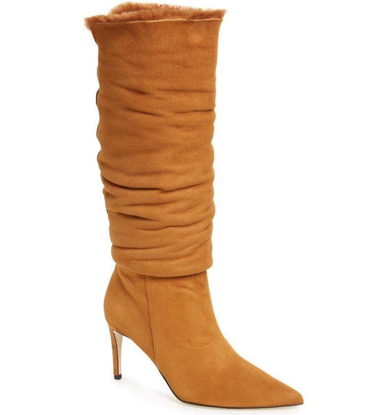 ALEXANDRE BIRMAN Genuine Shearling Boot, Main, color, 200