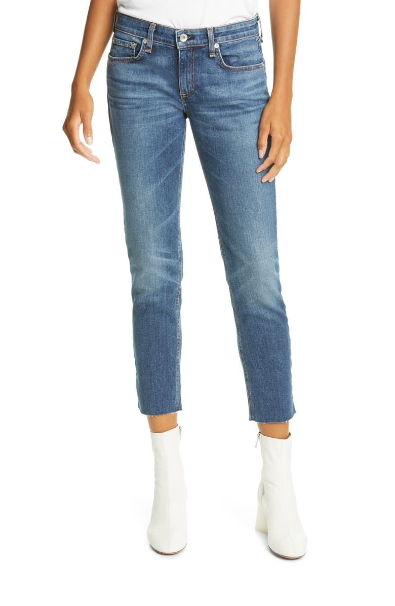 RAG & BONE Dre Slim Fit Ankle Boyfriend Jeans, Main, color, MARIPOSA