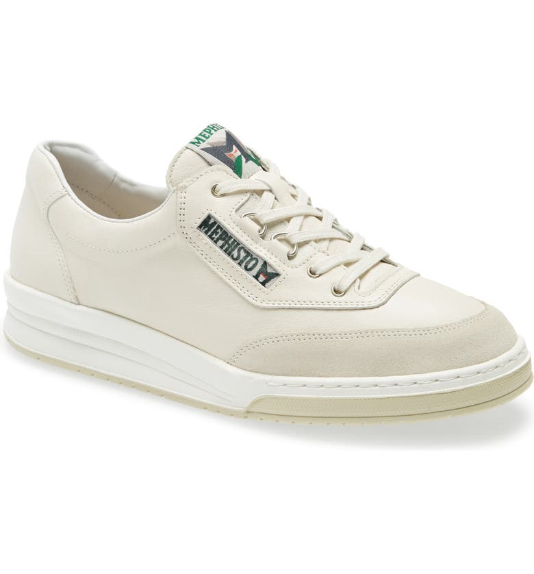 MEPHISTO Match Low Top Sneaker, Main, color, OFF WHITE