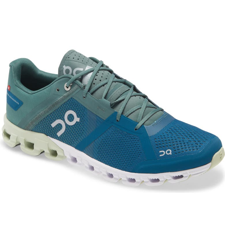 ON Cloudflow Running Shoe, Main, color, SEA/ PETROL