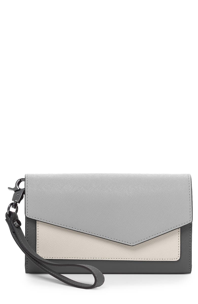 BOTKIER Cobble Hill Leather Continental Wallet, Main, color, 020