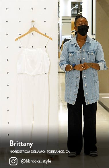 Tanager Camisole & Wide Leg Pants, sales video thumbnail