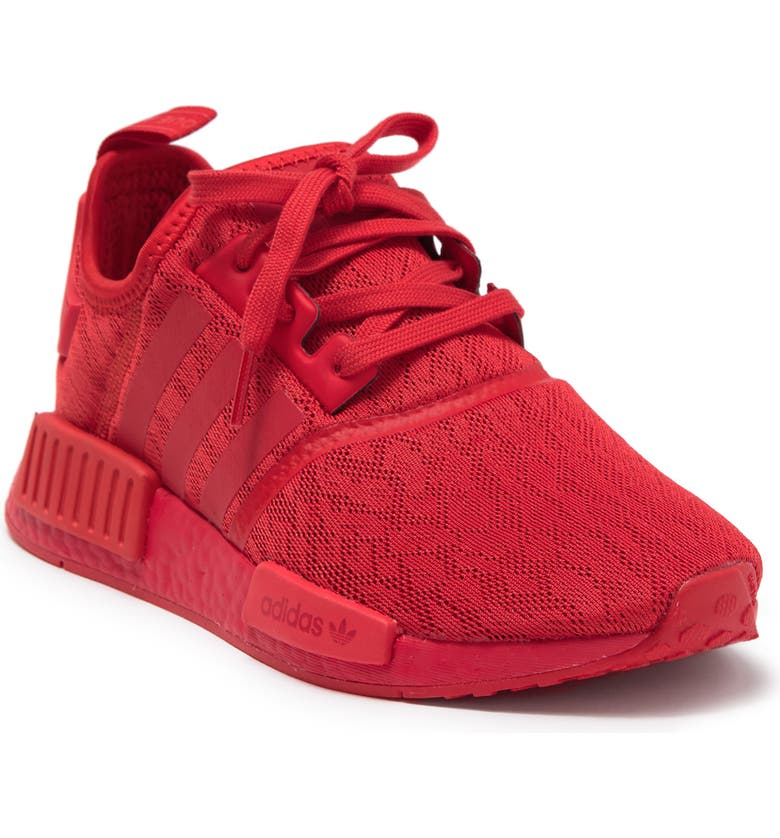 ADIDAS NMD R1 Sneaker, Main, color, LUSH RED/ LUSH RED