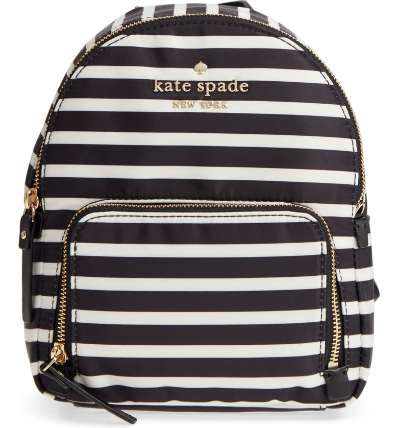 KATE SPADE NEW YORK watson lane - small hartley nylon backpack, Main, color, 001