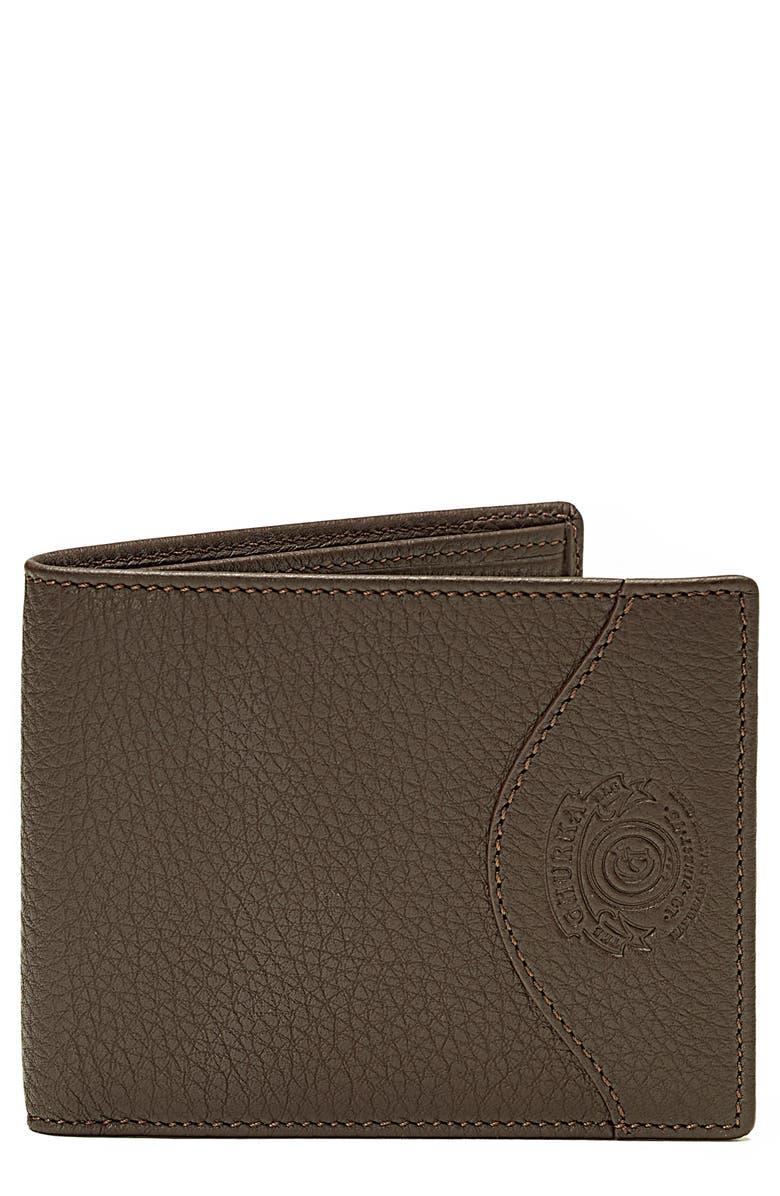 GHURKA Classic Leather Wallet, Main, color, 023