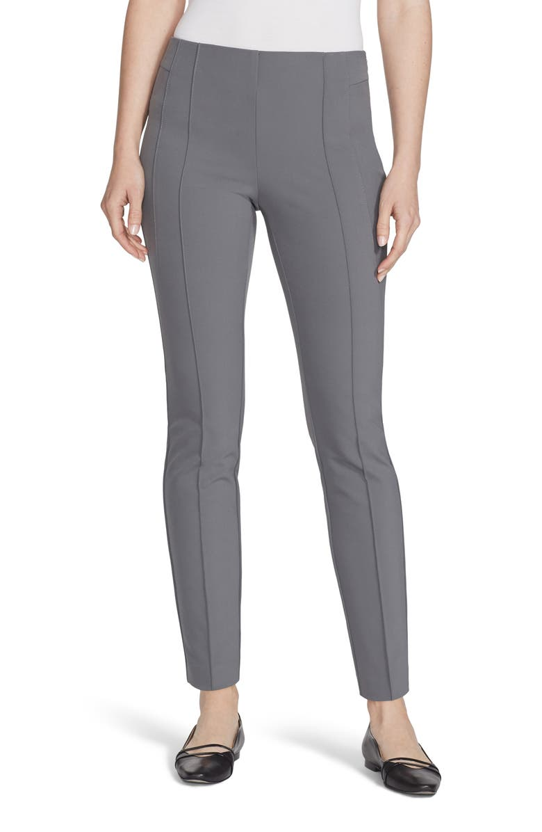 LAFAYETTE 148 NEW YORK Gramercy Acclaimed Stretch Pants, Main, color, SHALE