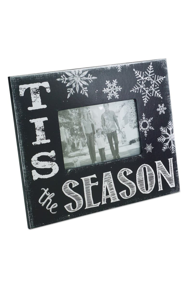 MELROSE GIFTS 'Tis The Season' Picture Frame, Main, color, 001