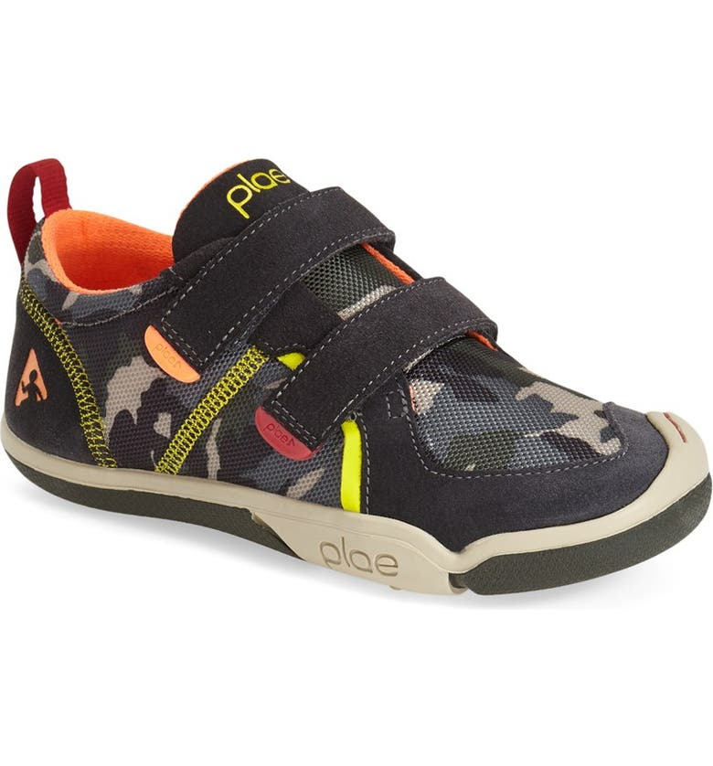 PLAE Ty Sneaker, Main, color, RAVEN/ CAMO