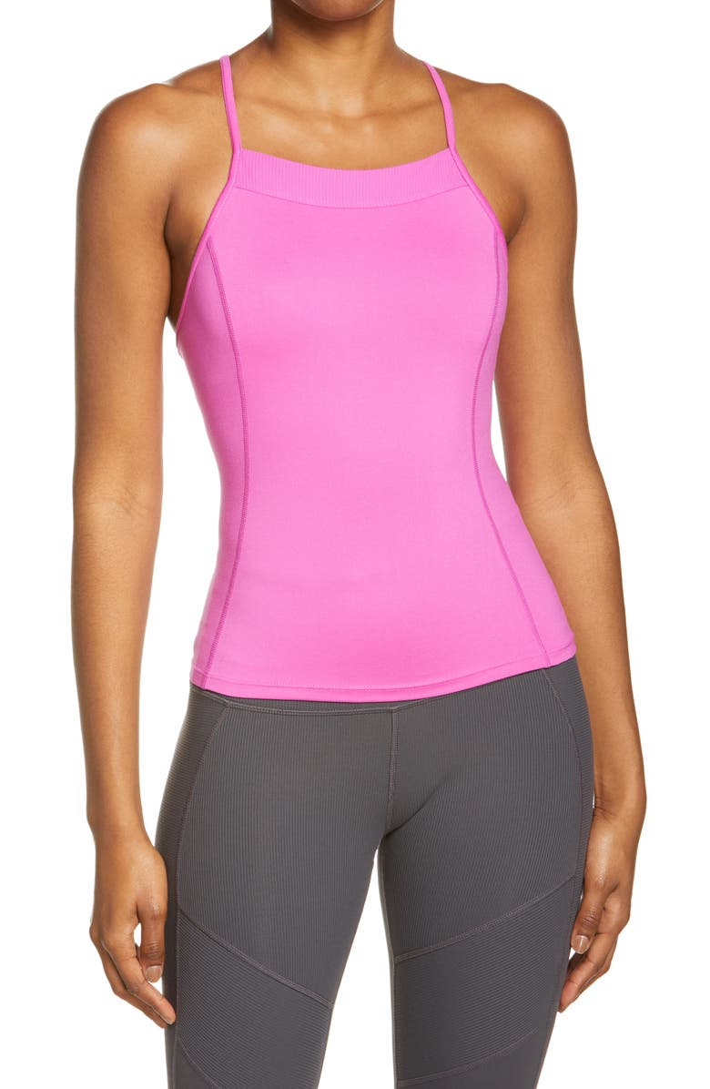 FREE PEOPLE FP MOVEMENT Looking Heavenly Tank, Main, color, Pink
