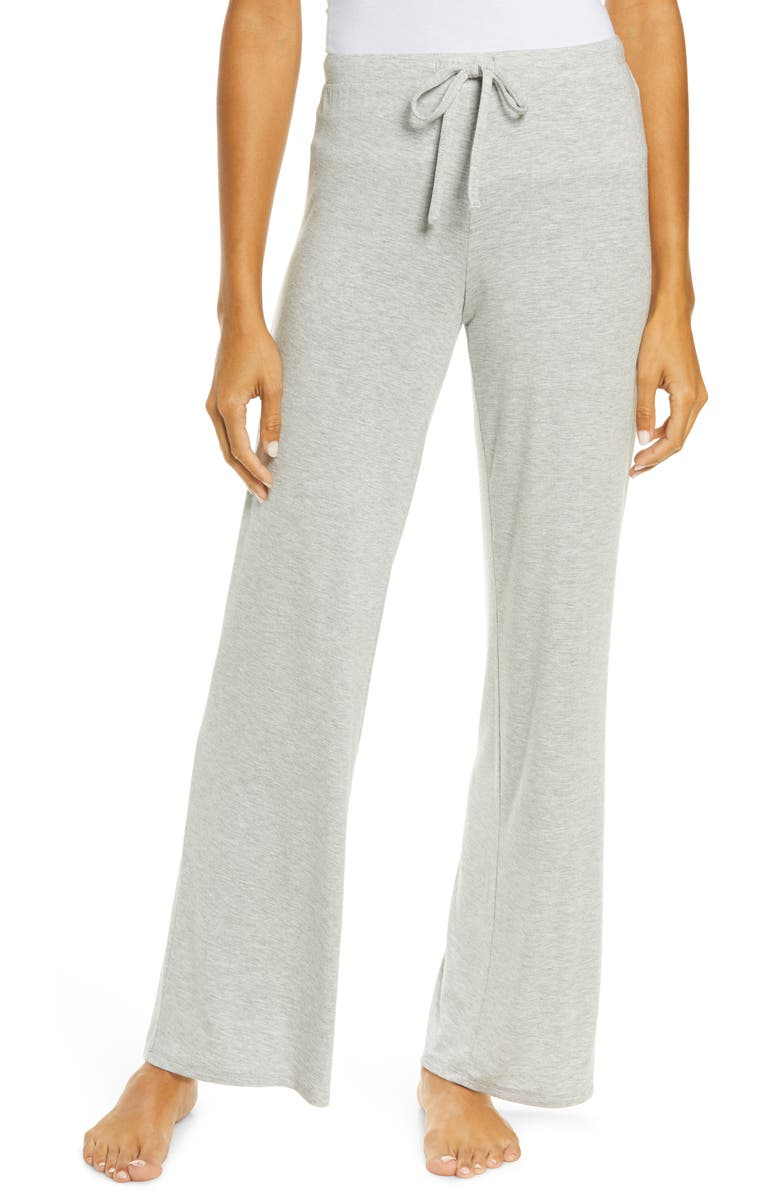 NORDSTROM Moonlight Pajama Pants, Main, color, GREY HEATHER