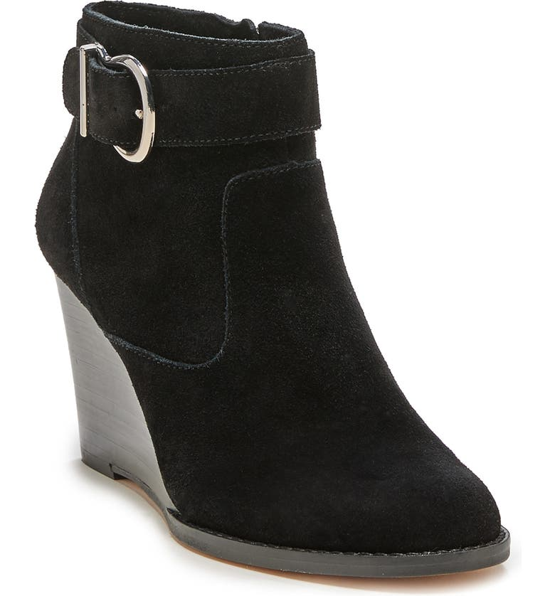 SOLE SOCIETY Peytal Wedge Bootie, Main, color, 001