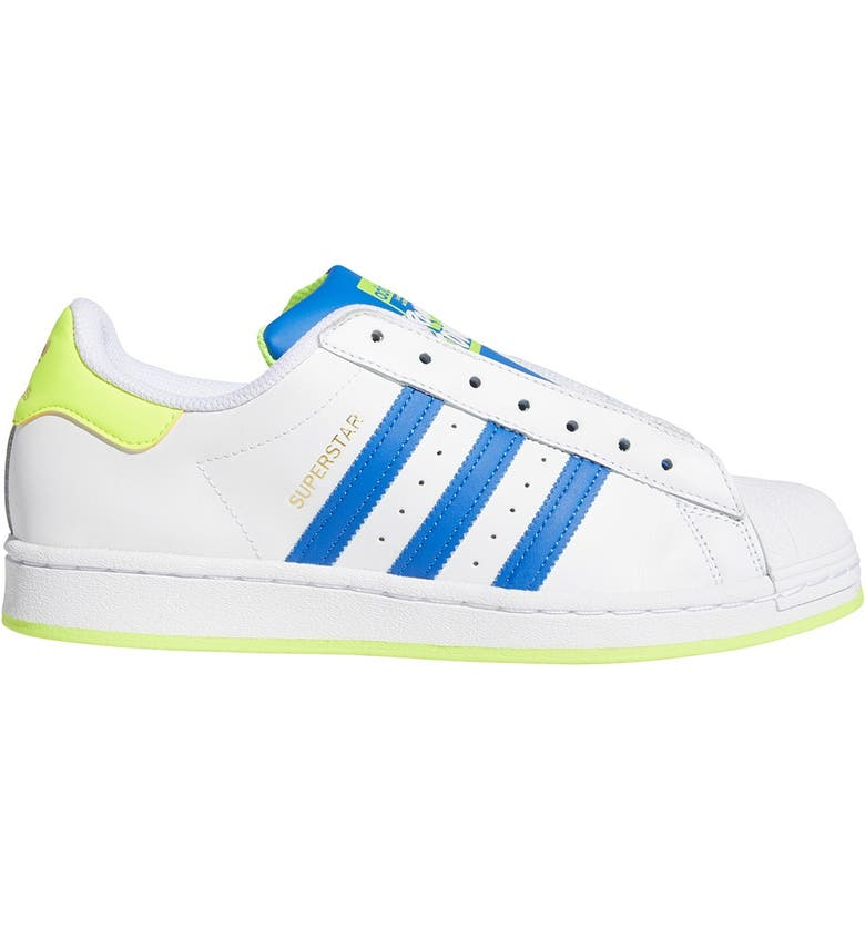 ADIDAS Superstar Laceless Sneaker, Main, color, FTWR WHITE