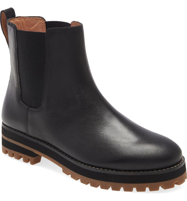 MADEWELL Ivy Chelsea Boot, Main, color, TRUE BLACK