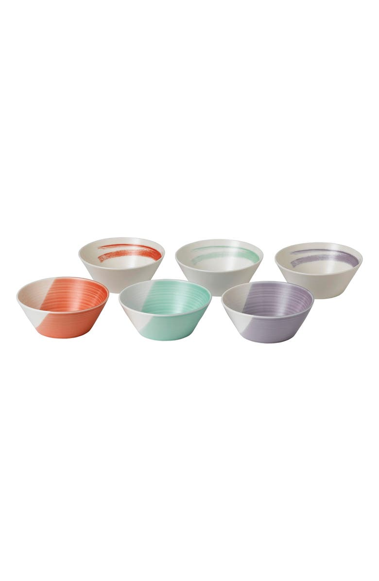 ROYAL DOULTON 1815 Bold Set of 6 Cereal Bowls, Main, color, ASSORTED