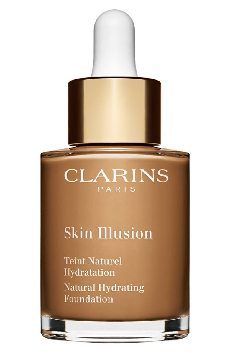 CLARINS Skin Illusion Natural Hydrating Foundation, Main, color, 116.5 - COFFEE