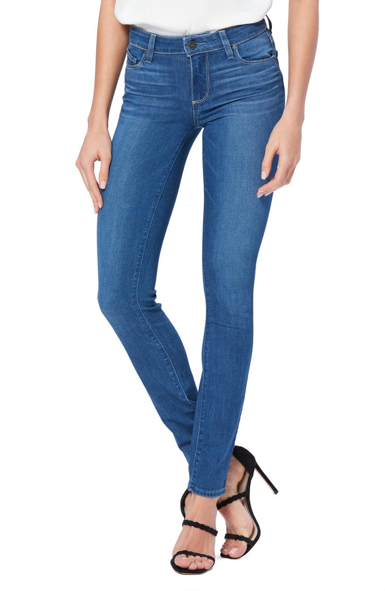 PAIGE Transcend Skyline Straight Leg Jeans, Main, color, 400