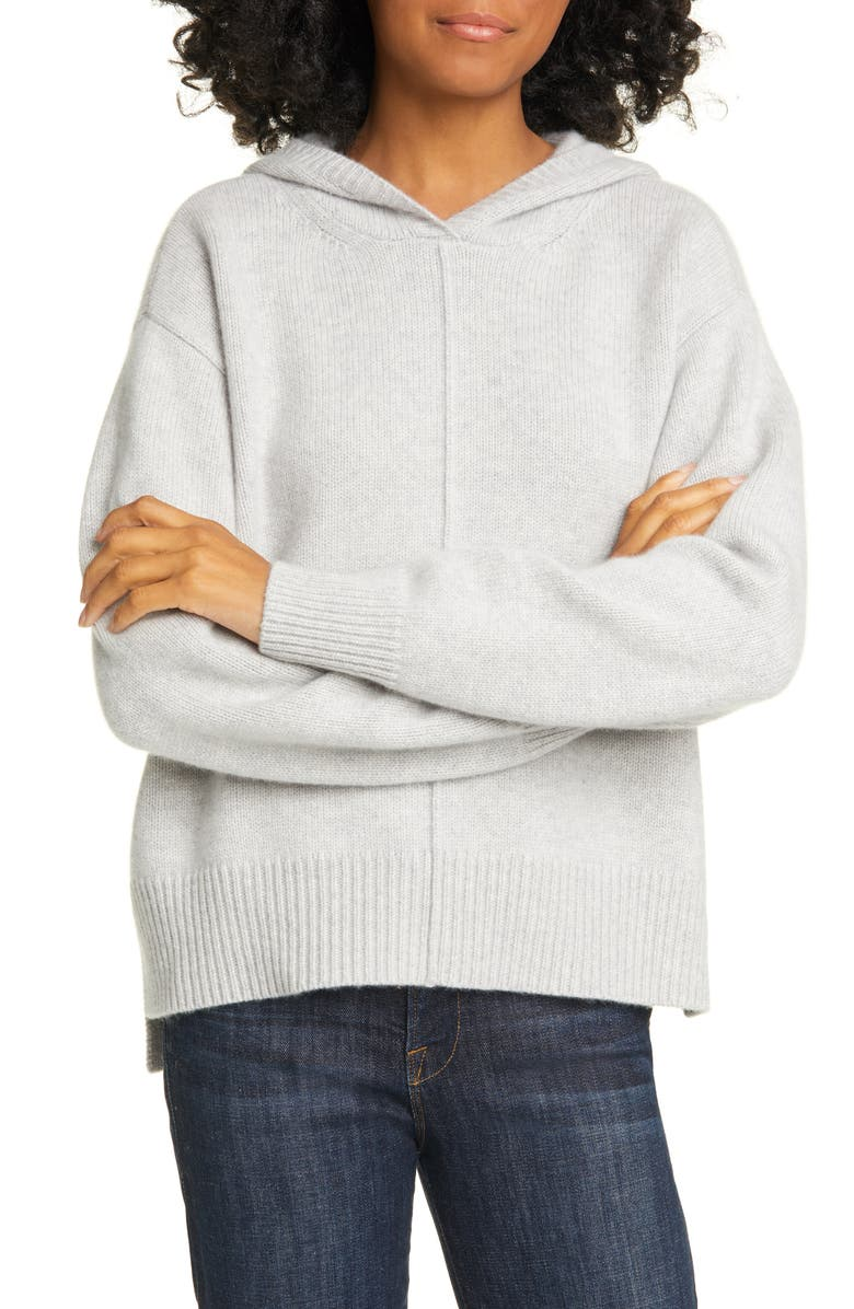 NORDSTROM SIGNATURE Cashmere Hoodie, Main, color, 030