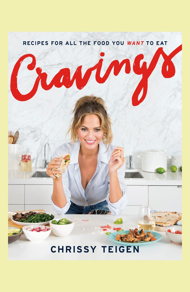 PENGUIN RANDOM HOUSE Cravings: Recipes for all the Foods You Want to Eat Cookbook, Main, color, White