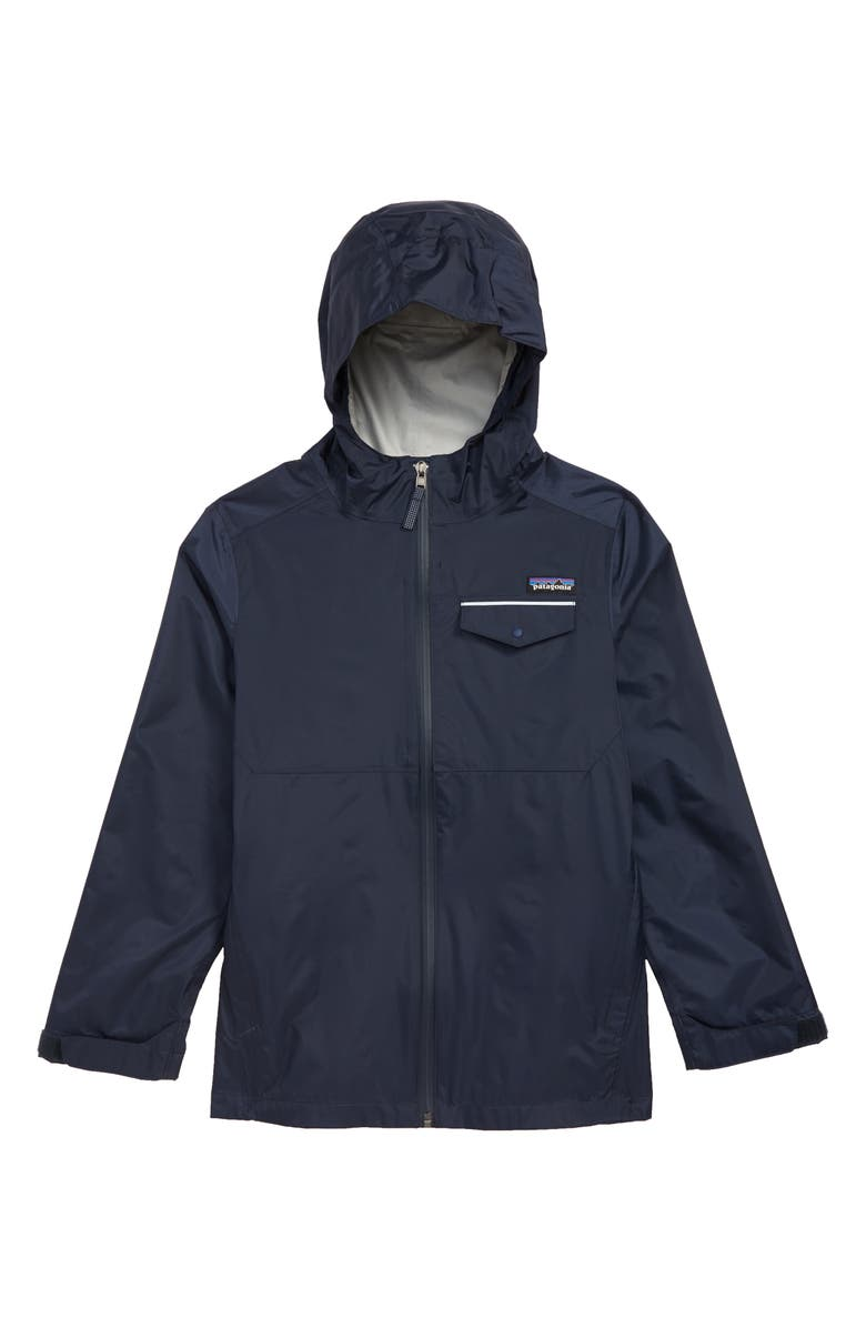 PATAGONIA Torrentshell Hooded Rain Jacket, Main, color, 403