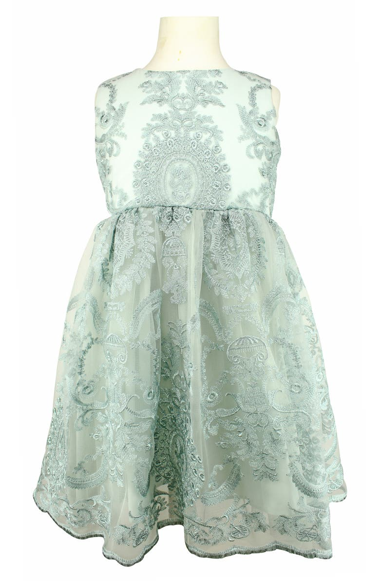 POPATU Embroidered Tulle Dress, Main, color, 450