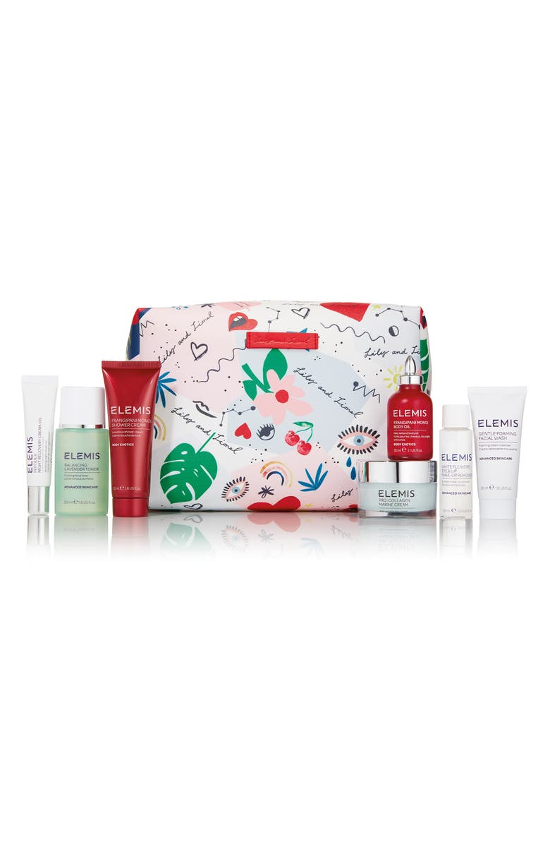 ELEMIS Lily and Lionel Skin Care Travel Collection for Her, Main, color, 000