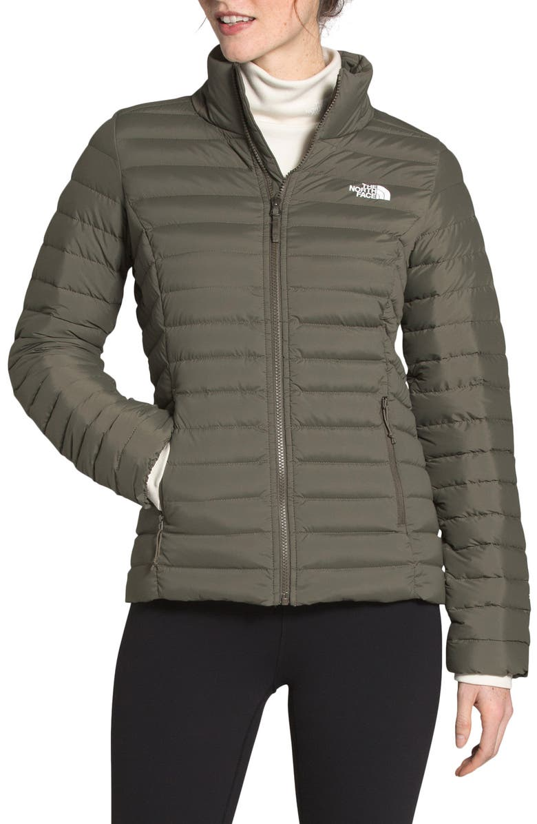 THE NORTH FACE Water Repellent Down Jacket, Main, color, NEW TAUPE GREEN