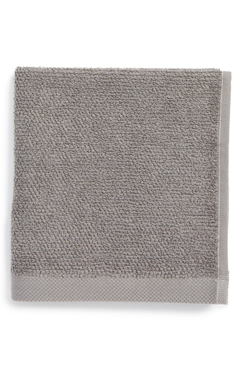 UGG<SUP>®</SUP> Classic Luxe Wash Towel, Main, color, 020
