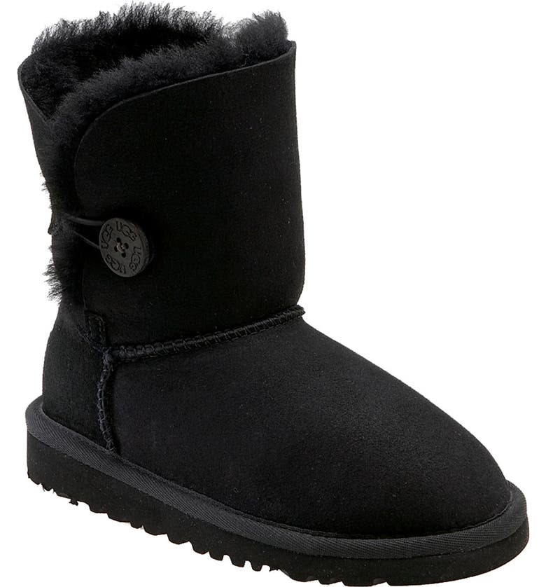 UGG<SUP>®</SUP> 'Bailey Button' Boot, Main, color, 001
