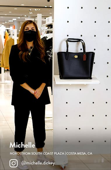 Willow Leather Tote, sales video thumbnail