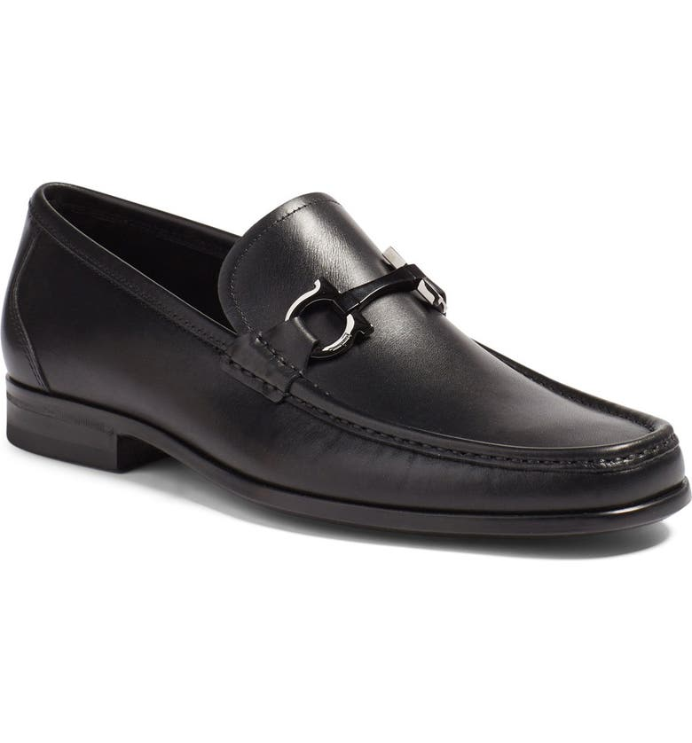 SALVATORE FERRAGAMO Grandioso Bit Loafer, Main, color, 001