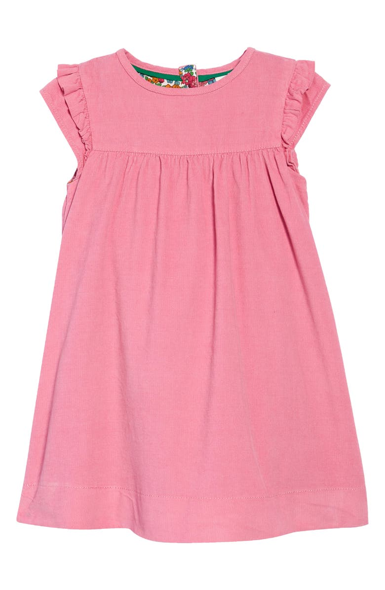 MINI BODEN Kids' Easy Everyday Corduroy Dress, Main, color, FORMICA PINK